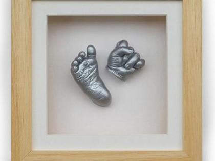 قالب گیری دست و پای کودک | تندیس دست و پای نوزاد